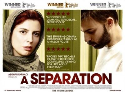 A separation by Asghar Farhadi poster