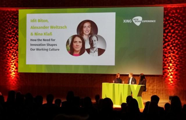 Diskussions-Panel mit Idit Biton über Innovation und ihren Einfluss auf unsere Arbeit