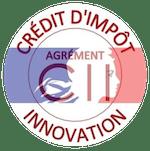 Logo agrément credit impot innovation CII