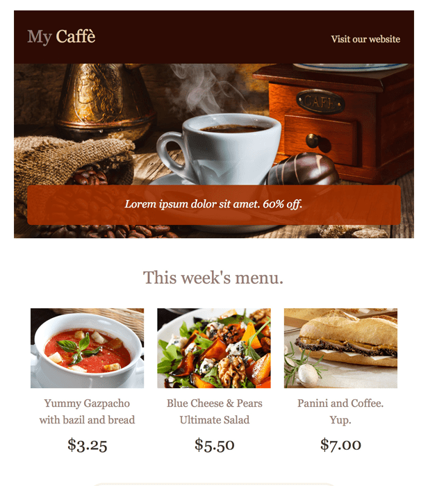 Top Free Newsletter Templates For August - 3 column newsletter template