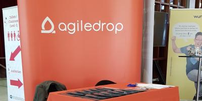 Agiledrop's DrupalCon 2019 booth