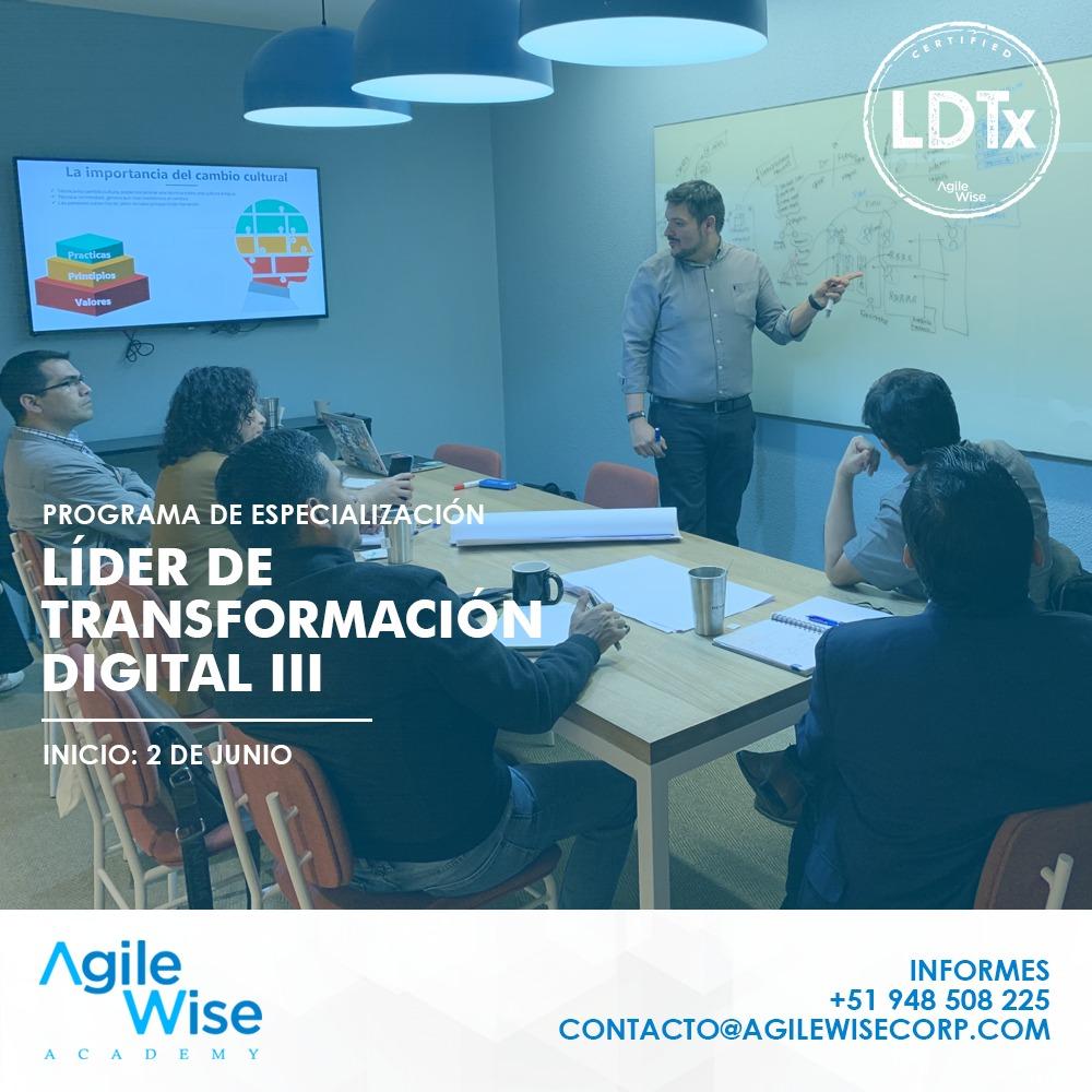 Agile Wise - Líder de Transformación Digital