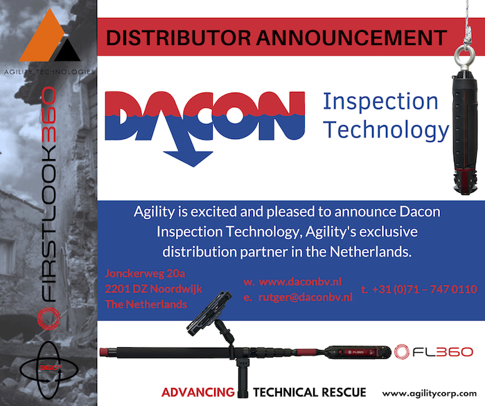 NEW Distribution Partner – DACON Inspection Technology BV. (Netherlands)