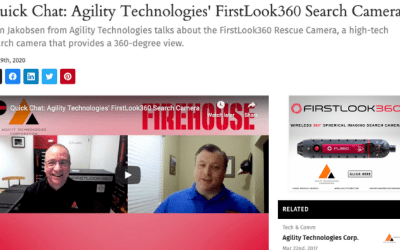 Quick Chat:  Agility Technologies' FirstLook360 Search Camera