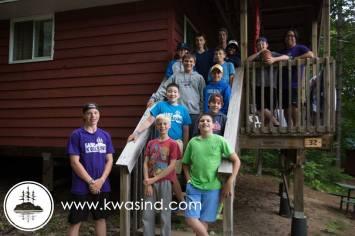 Benson at Camp Kwasind