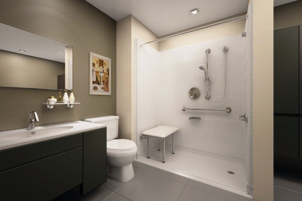 walk in shower with seat low prices
