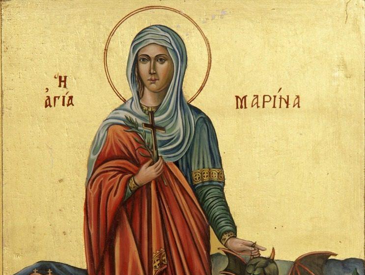 Μνήμη τῆς Ἁγίας Μεγαλομάρτυρος Mαρίνης (17 Ιουλίου)