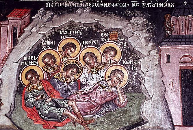 Οι Άγιοι Επτά Παίδες εν Εφέσω, Προστάτες όσων έχουν προβλήματα αϋπνίας.