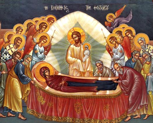 Υμνολογία της εορτής της Κοιμήσεως της Θεοτόκου