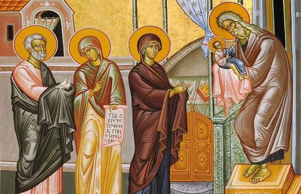 Λόγος του Αγίου Ιωάννου του Χρυσοστόμου στην Υπαπαντή του Ιησού Χριστού