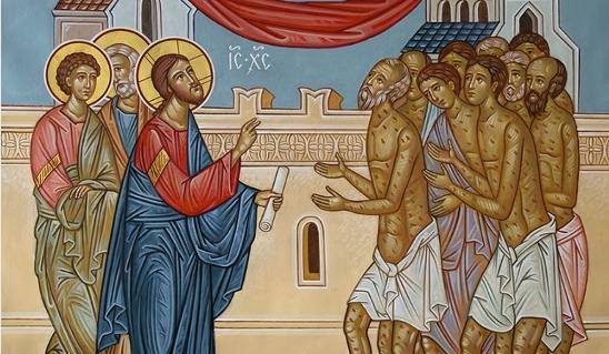 ΚΥΡΙΑΚΗ ΙΒ' ΛΟΥΚΑ: Η θεραπεία των δέκα λεπρών (Άγιος Νικόλαος Βελιμίροβιτς)