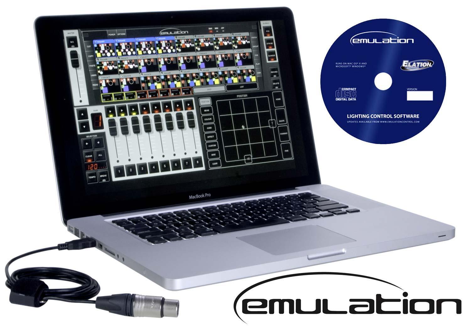 dmx lighting control software for mac