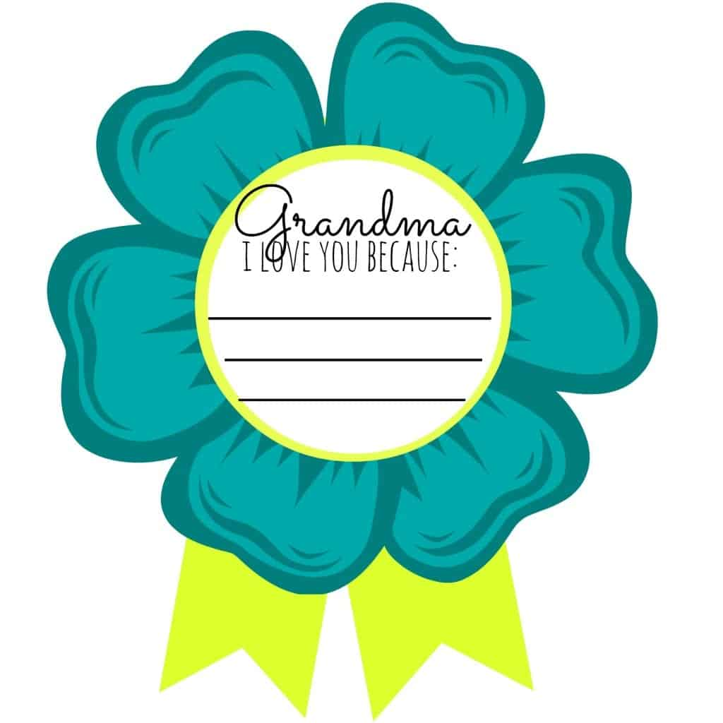 Mom And Grandma Badges Free Printable