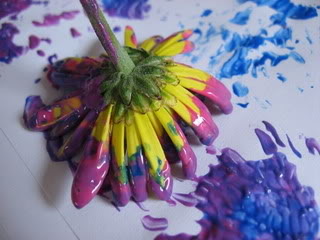 Image result for flower art by kids pictures