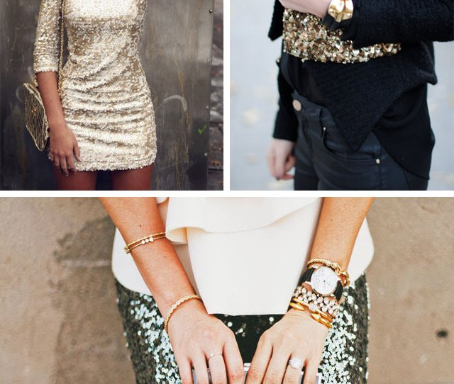 New Years Eve Sequins