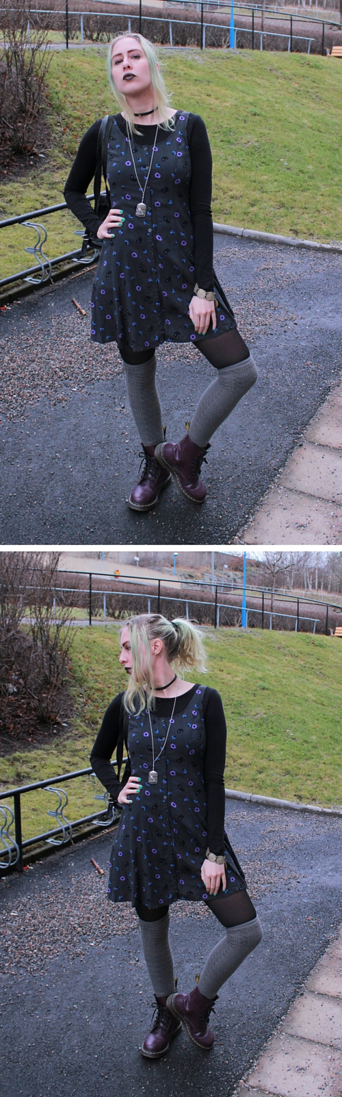 nineties inspired outfit