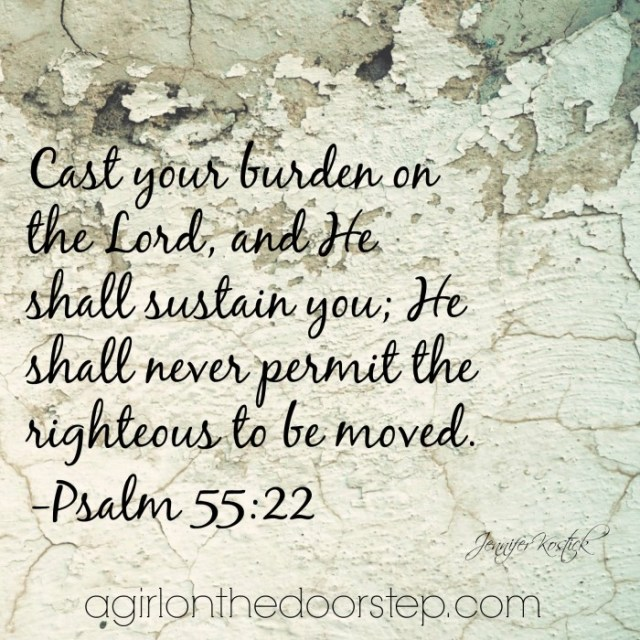Cast your burden