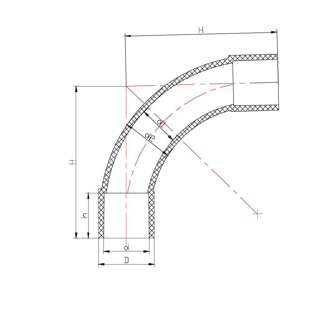 Conduit Standard Bend 90deg Hd