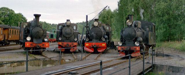 Ånglok i Anten år 2000. Foto: Patrik Engberg