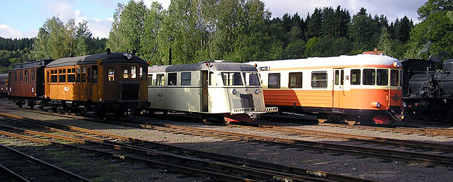 Motorvagnar i Anten 2009. Foto: Patrik Engberg