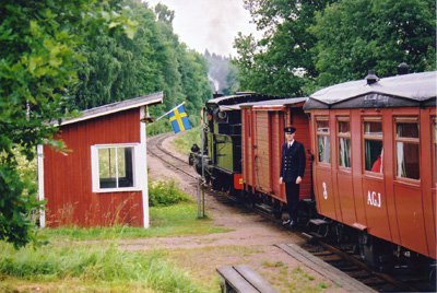 Arelids hållplats. Foto: Patrik Engberg