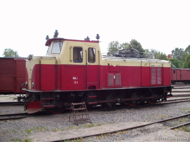 "NKlJ 104 ""Uddeholm"" i Anten 2003. Foto: Patrik Engberg"