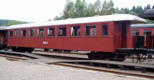 AGJ vagn 34 i Anten. Foto: Patrik Engberg