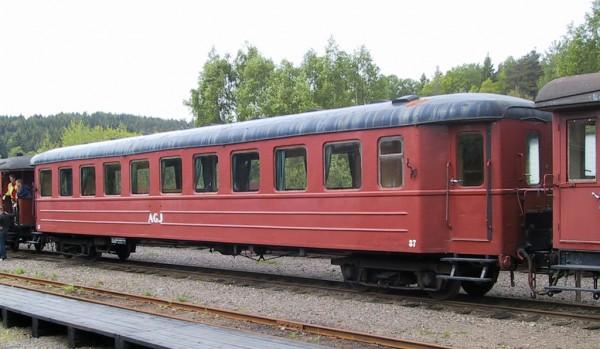 AGJ vagn 35 i Anten. Foto: Patrik Engberg