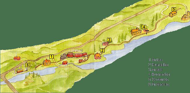 Karta över AGJ