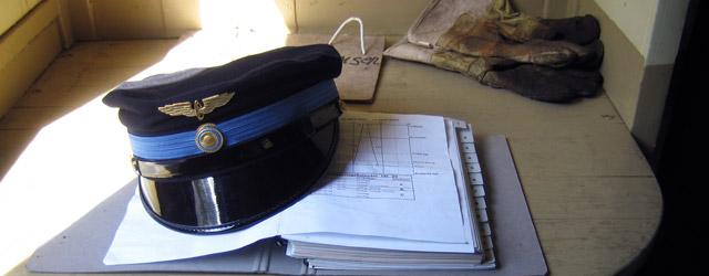 Utrustning för tågbefälhavare. Foto: René Pabst
