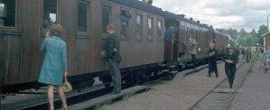 Föreningens tåg på 1970-talet. Foto: Ur AGJs arkiv