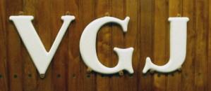 VGJ-märkning på vagnar. Foto: Patrik Engberg