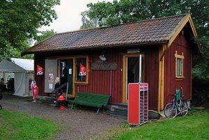 Järnvägscaféet i Anten. Foto: Patrik Engberg