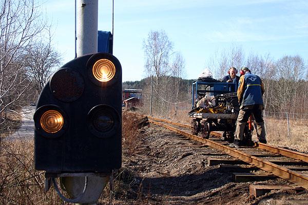 Banarbete på AGJ. Foto: Mats Andersson