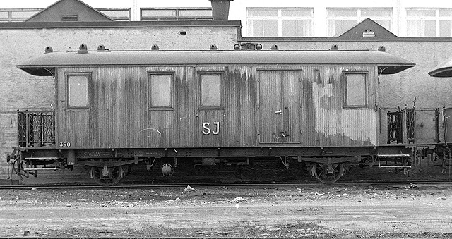 AGJ vagn 17 i Göteborg på 1960-talet. Foto: Lars Gustafsson