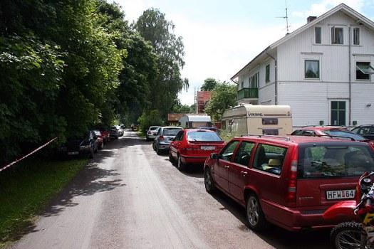 Trängsel i Anten. Foto: Mikael Andersson
