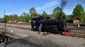 Växling med BLJ 6 i Anten den 17 maj 2014. Foto: Magnus Johansson
