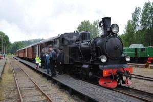 BLJ 6 står startklar med första tåget klockan 11 i Anten. Foto: Patrik Engberg