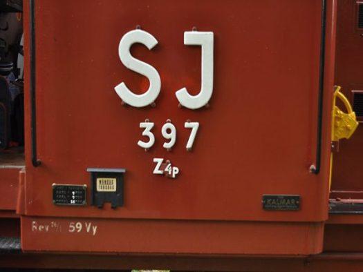 Z4p 397. Foto: Gotlandståget