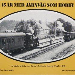 15 år med järnväg som hobby