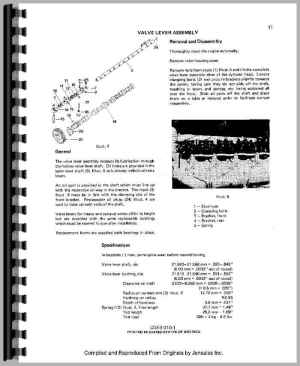 CaseIH 885 Engine Service Manual