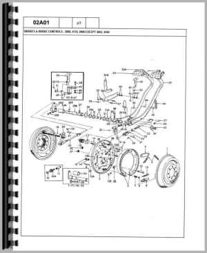 Ford 3400 Industrial Tractor Parts Manual