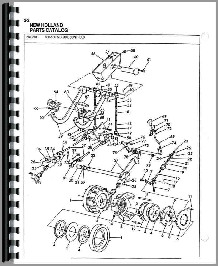 555a ford backhoe hydraulic diagram
