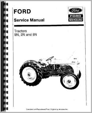Ford 8N Tractor Service Manual