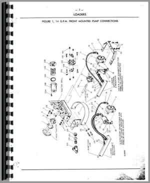 Ford Wagner Farm Loader Parts Manual