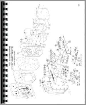Farmall 756 Tractor Parts Manual