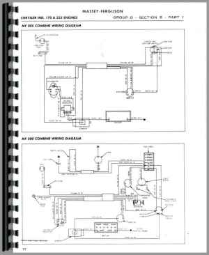 Massey Harris All Continental G176, GB176, G206 Service Manual