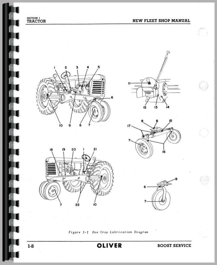 oliver 70 wiring diagram