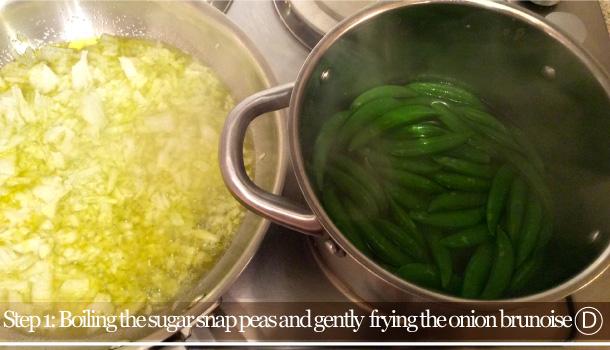 """Rice and Peas"" recipe - ""Risi e Bisi"""