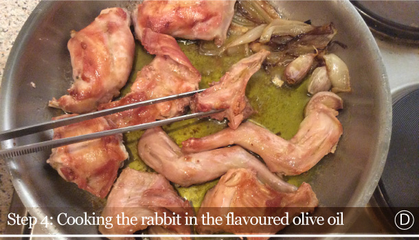 """Rabbit """"alla Ligure"""" recipe - Coniglio alla Ligure"""